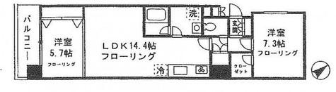 カナーリス月島 / 3階 部屋画像1