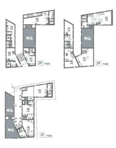 コミチテラス大岡山 / 3階 部屋画像1