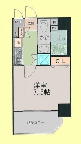アイコート松が谷 / 8階 部屋画像1