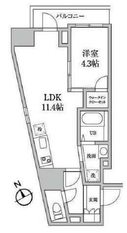 レジディア日本橋馬喰町Ⅱ / 901 部屋画像1