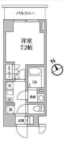 レジディア日本橋馬喰町Ⅱ / 403 部屋画像1