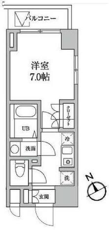 レジディア日本橋馬喰町Ⅱ / 307 部屋画像1