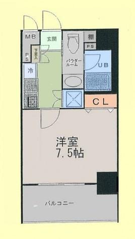 アイコート松が谷 / 5階 部屋画像1