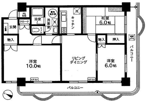 ハイネス目黒 / 5階 部屋画像1