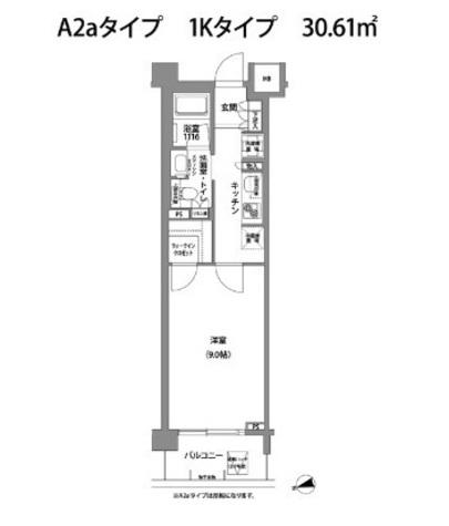 コンフォリア目黒青葉台 / 3階 部屋画像1