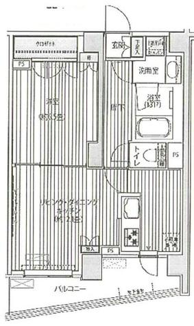 エル・グラシア都立大学 / 1階 部屋画像1
