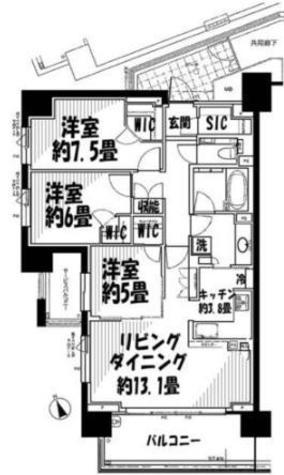 クラッシィハウス目黒洗足 / 2階 部屋画像1