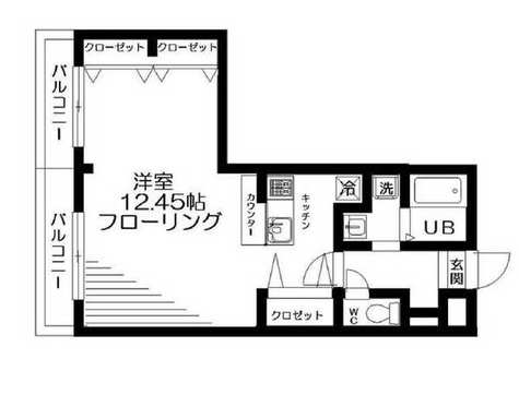 MUスクエア等々力 / 401 部屋画像1