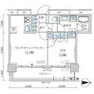 パークアクシス菊川StationGate(パークアクシス菊川ステーションゲート) / 10階 部屋画像1