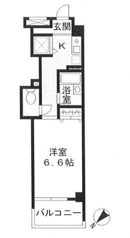アルテール勝どき / 501 部屋画像1