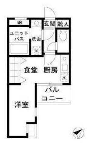 エクセシオーネ目黒 / 504 部屋画像1