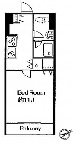 パシフィックコート中延 / 3階 部屋画像1