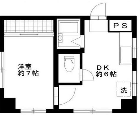 第3コーポ丸二ビル / 1階 部屋画像1
