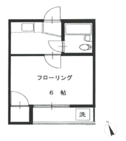 RKフラット / 1階 部屋画像1