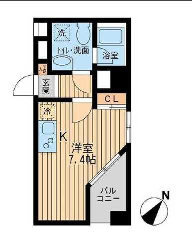 ユニフォート目黒中町 / 410 部屋画像1
