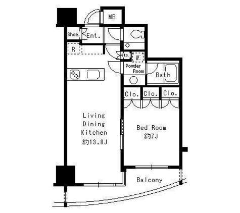 MFPR代々木タワー / 1603 部屋画像1