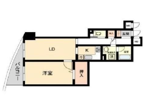 HF白山レジデンス(旧レジデンス向丘) / 6階 部屋画像1