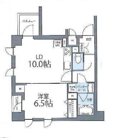 colline池田山 / 3階 部屋画像1