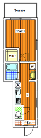 緑が丘 10分マンション / 1階 部屋画像1