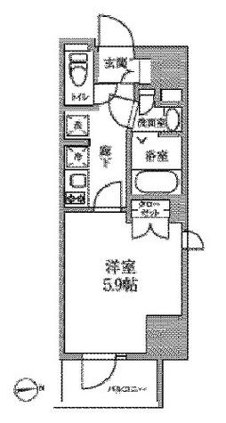 レジディア中延Ⅱ / 301 部屋画像1