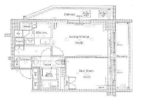 ブランノワール代々木 / 3階 部屋画像1