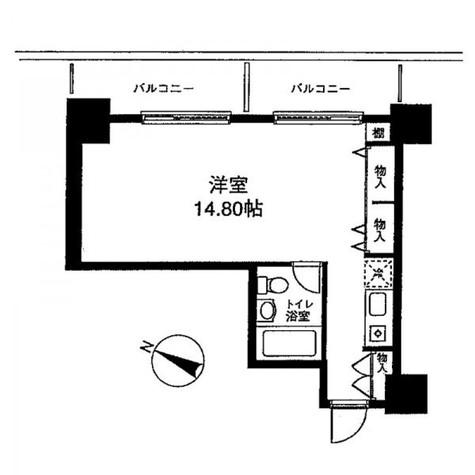 メゾン・ド・ヴィレ麻布台 / 202 部屋画像1