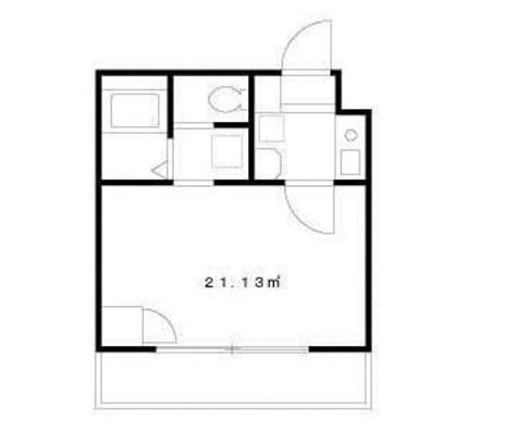 UPR桜木 / 3階 部屋画像1