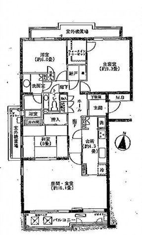御殿山マンション / 2階 部屋画像1
