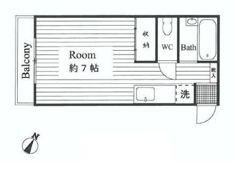I・T・C下馬アパートメント / 105 部屋画像1