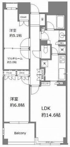 ル・フェール三宿世田谷 / 105 部屋画像1