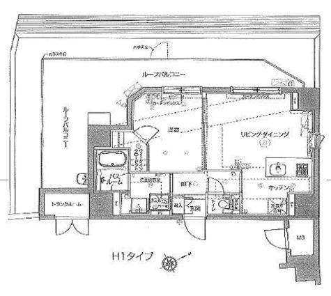 ZOOM Ebisu(ズーム恵比寿) / 6階 部屋画像1