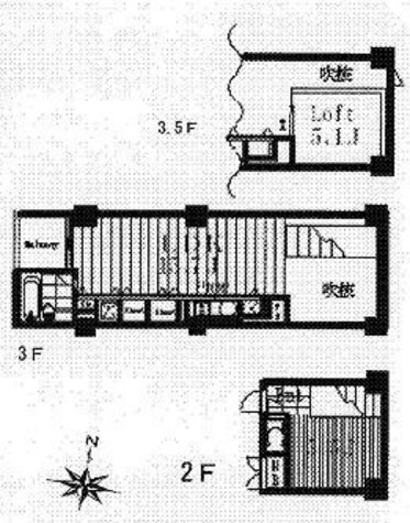 ベルメゾン南麻布grand / 206 部屋画像1