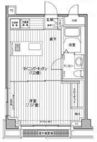 カスタリア都立大学 / 406 部屋画像1