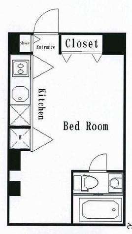 ベルメゾン南麻布grand / 603 部屋画像1