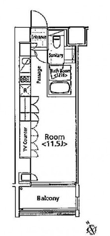 アーデン五反田 / 4階 部屋画像1