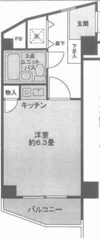 ライオンズマンション目黒不動前 / 6階 部屋画像1