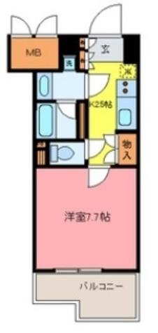 ナーベルお茶の水 / 7階 部屋画像1