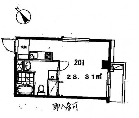 グリーンヒルズ(大岡山1) / 2階 部屋画像1