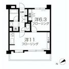 クリオ恵比寿弐番館 / 3階 部屋画像1