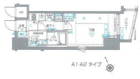 ZOOM Ebisu(ズーム恵比寿) / 3階 部屋画像1