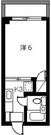 ファラコート日吉 / 303 部屋画像1