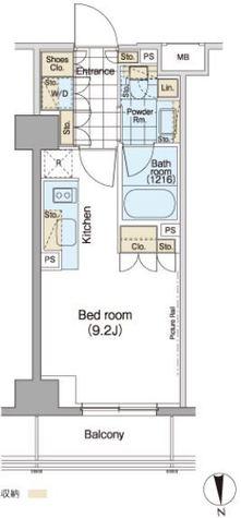 パークハビオ秋葉原 / 3階 部屋画像1