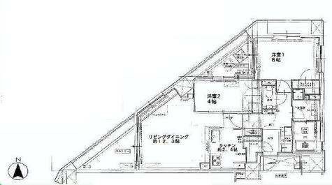 マジェスティハウス新宿御苑パークナード / 7階 部屋画像1