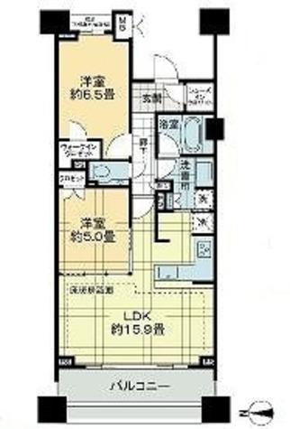 マジェスティハウス新宿御苑パークナード / 8階 部屋画像1