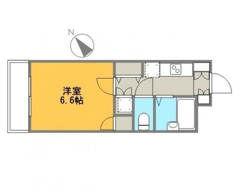 スカイコート日本橋浜町第3 / 9階 部屋画像1