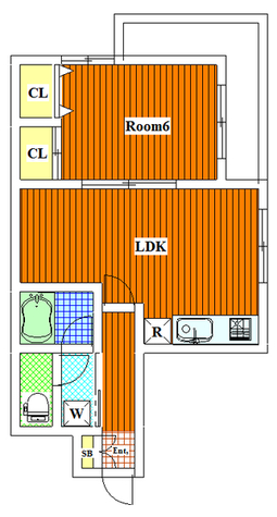 カームハウス / 3階 部屋画像1