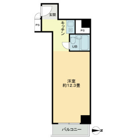 浜松町ダイヤハイツ / 10階 部屋画像1
