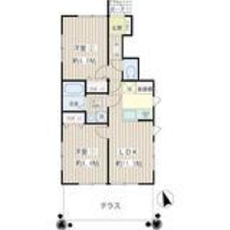 東中延2丁目アパートメント / 1階 部屋画像1