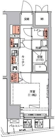 ハーモニーレジデンス三田 / 9階 部屋画像1