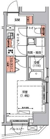 ハーモニーレジデンス三田 / 4階 部屋画像1